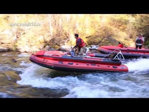 Возможности водометной лодки ФРЕГАТ на рулевом управлении от СТИХИИ ВОДЫ Абакан