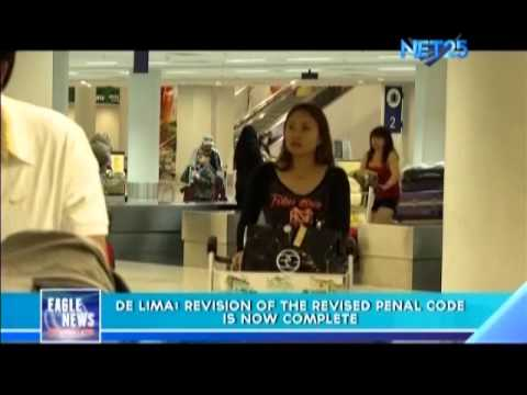 De Lima: Revision of the Revised Penal Code is now complete