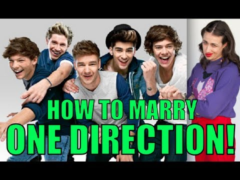 HOW TO MARRY ONE DIRECTION!