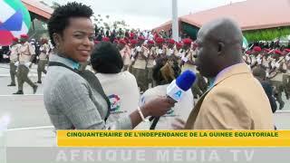 STAND-UP CINQUANTENAIRE DE L'INDÉPENDANCE DE LA GUINÉE ÉQUATORIALE