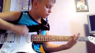 Урок игры на гитаре металлика master of puppets