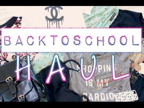 Back To School Fashion Haul!