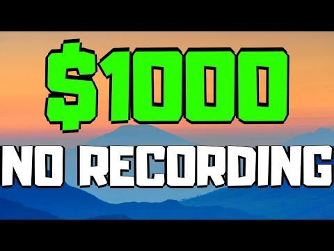 $1,000 A Day On Youtube WITHOUT Recording Videos [EASY METHOD] (2020)