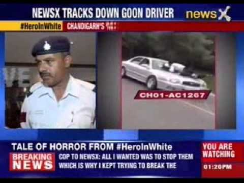 Dramatic road rage horror caught on tape in Chandigarh