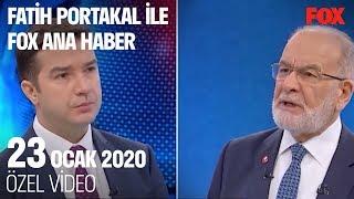 Seçim tartışması bitmedi!  23 Ocak 2020 Fatih Portakal ile FOX Ana Haber
