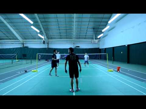 2012 Baltimore Badminton Charity Open Men's Double Div-C Quarter Final - Game 1 & 2