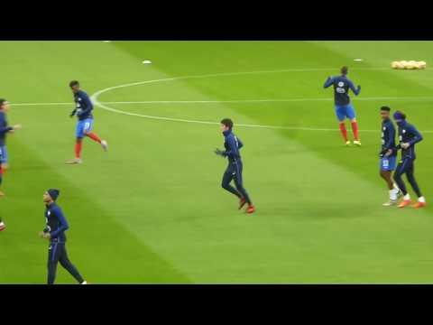 Kylian Mbappé ● Alexandre Lacazette ● Anthony Martial ● France vs Pays de Galles 2017