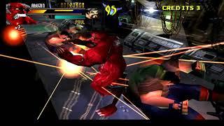 Gekido Urban Fighters PLay As Akujin Boss HAck Psx