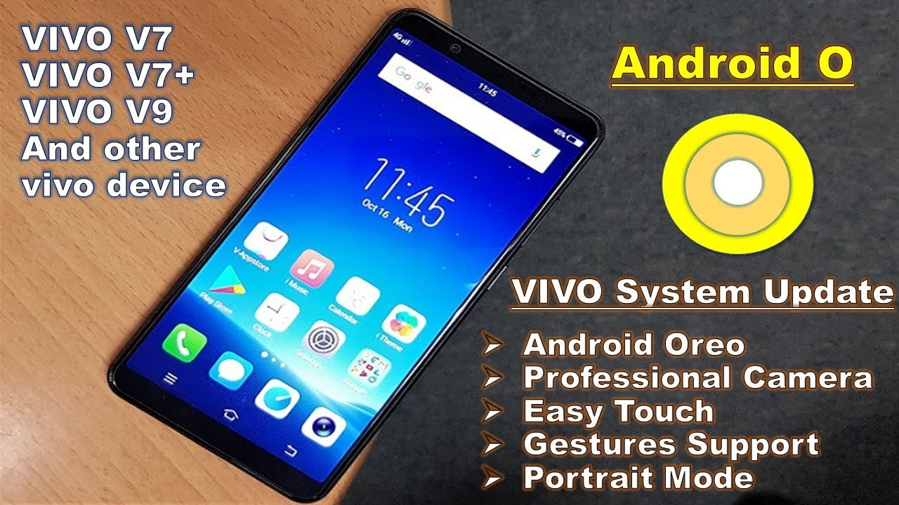 #Vivo system update | Android OREO | Lots of new feature | Video calling  |How to update