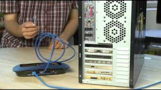 How to set up a wired network