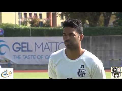 Vinicio Espinal, difensore della Virtus Bergamo 2017/2018