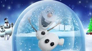 Frozen Christmas song frosty the snowman Olaf