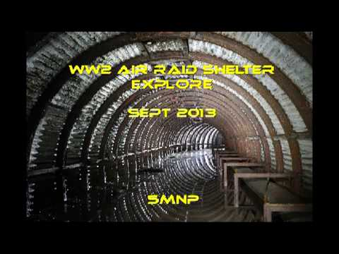 Port Glasgow air raid shelter - Video & pictures