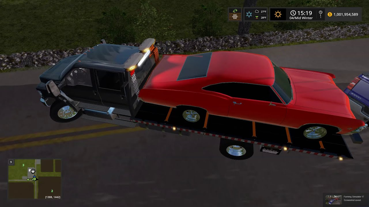 Truck Destroys Classic Car - Ford F-650 Rollback Accident Recovery Towing  Farming Simulator 17 #24  Acepilot2k7 15:14 HD