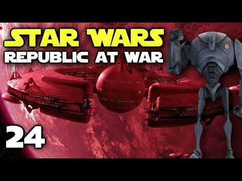 BATTLE OF CORUSCANT! - Star Wars: Republic At War - Confederacy Episode 24