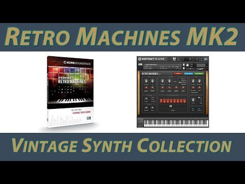 Native Instruments Retro Machines MK2 Обзор