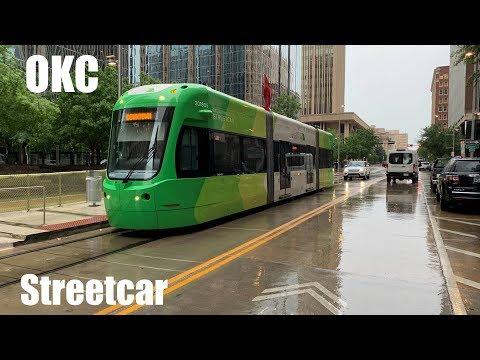 Ride on the Oklahoma City Streetcar