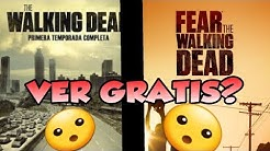 COMO VER THE WALKING DEAD Y FEAR THE WALKING DEAD | 100°/. REAL NO FAKE