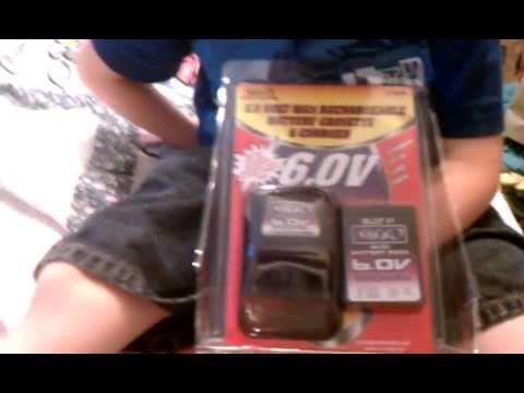 Nikko R C 6 0v Nicd Rechargeable Battery Cassette