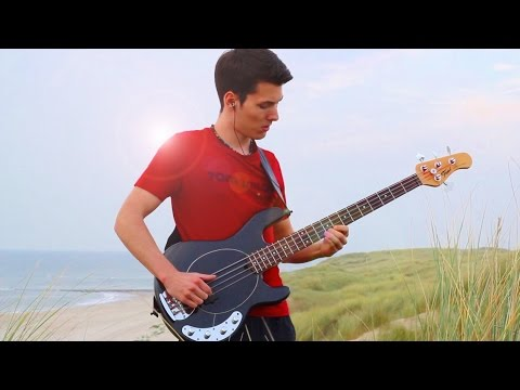 how to play yiruma river flows in you on bass