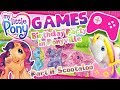 """MY LITTLE PONY / / GAMES / / BDay Party in Ponyville: Scootaloo's Room + Cartoon """"Meet the Ponies"""""""