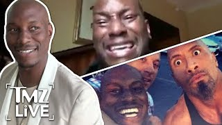 Tyrese: War With The Rock Was Wrong | TMZ Live