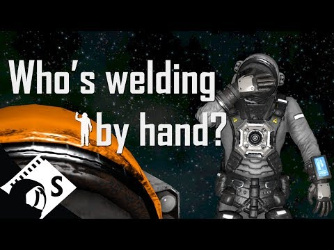 Space Engineers Tutorial: Conveyors and Welding Ships (Part 7 of a survival tutorial series)