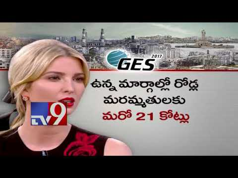 Hyderabad gets a polished look for Ivanka Trump's visit - TV9 Now