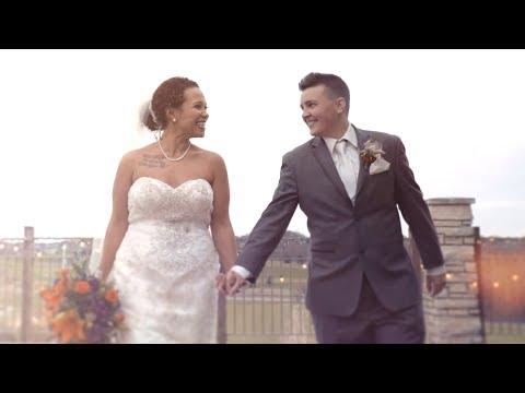 Beautiful Spoken Word at Wedding   {Iowa City Wedding Film}