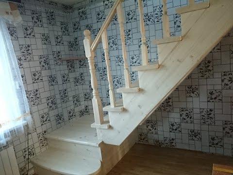 Лестница с П-образным ограждением.Курск.Наш тел.89202611537 Александр.