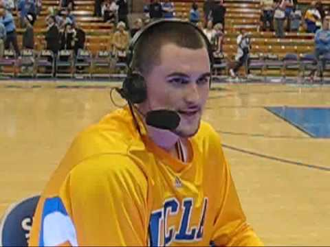 Kevin Love interview UCLA vs Stanford Mar 6 2008 Part 1 of ...