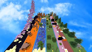 More Minecraft Parkour Stripes