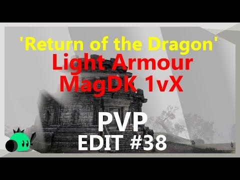 \'Return of the Dragon\' Light Armour SPECIAL| 1vX Edit #38 | Magicka DK [Build Coming soon]