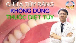 Điều Trị Tủy Răng Không Đặt Thuốc Diệt Tủy Răng ,Lấy Tủy Răng Sạch Chỉ 1 Lần Hẹn Bằng Máy Endo
