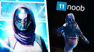 we found a level 11 noob in Destiny 2 Crucible.. (GONE WRONG)