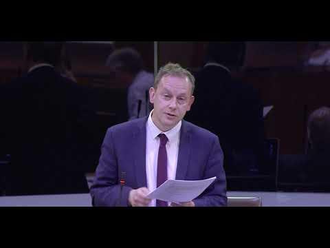 Gareth Bennett AM - Dumping of Radioactive Waste