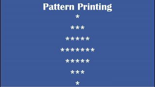 C Practical and Assignment Programs-Pattern Printing 9