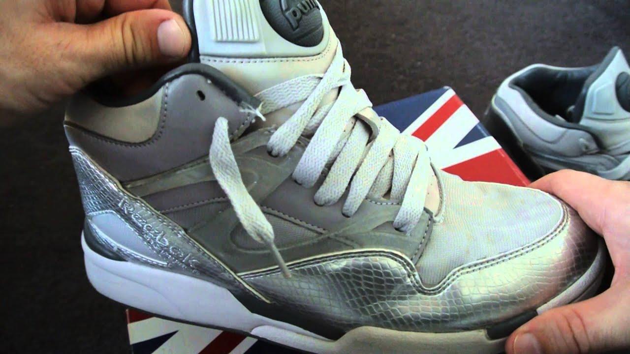 a91f0af77c95 Reebok pump Omni Lite sneakers - Ltd edition review - YouTube
