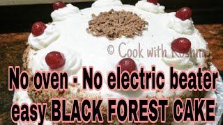 no bake black forest float