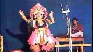 Yakshagana Dance by Kanni Ganapathi Bhat Part-1