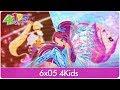 Winx Club 6x05 Sirenix and Bloomix Transformations 4Kids [RARE FOOTAGE!]