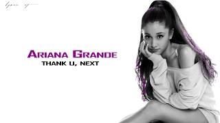 Ariana Grande   thank u next (lyric video)