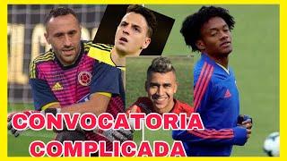 ÚLTIMO MINUTO Cuadrado y Ospina fuera de la CONVOCATORIA de la selección colombia 🇨🇴 vs Venezuela