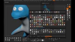 CG-Kreatur Techniken: Cartoon Plesiosaur mit Maya & ZBrush: Teil 2-3