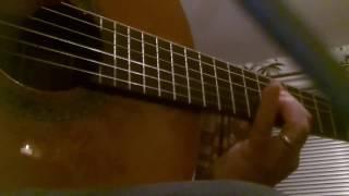 Alhambra 5P classical guitar. Isaac Albeniz. Mallorca.