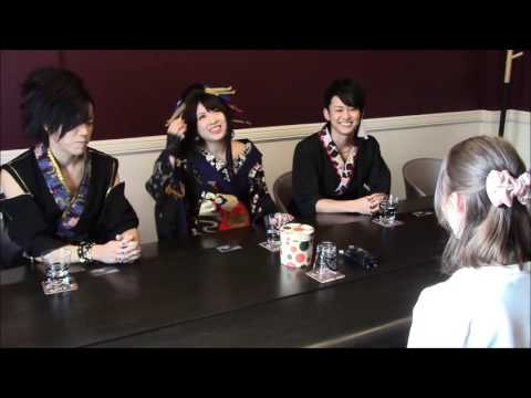 Interview with WagakkiBand on DEEP IMPACT Tour