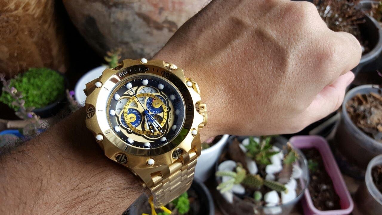 c8fda6fb656 Relógio invicta 16804 hybrid movimento suíço cronógrafo nova ...
