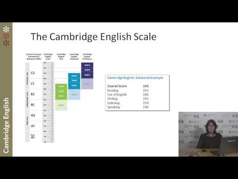The Cambridge English Scale explained