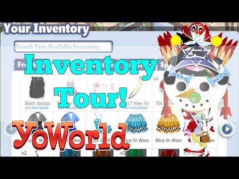 YoWorld Inventory Tour!