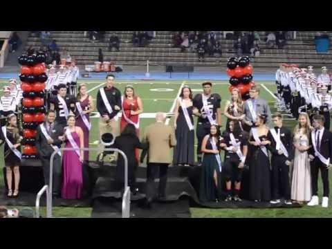 2016 Homecoming King Praise Viliamu and Queen Mahal Miles North Medford High School